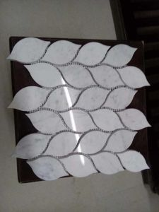 Pure White Marble Tiles/White Marble Mosaic/Chinese Mable/White Onyx Marble/Jade Marble pictures & photos