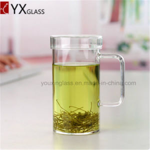 650ml The High Borosilicate Glass Single Wall Glass Tea Beer Cups with Handle/Drinkware Juice Milk Coffee Lemon Glass Mug Cup pictures & photos