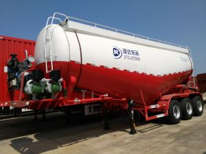 Dongrun Brand Bulk Cement Tanker Semi Trailer for Transportation