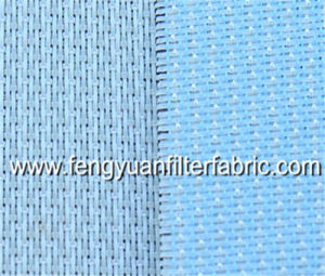 China 100% Polyester Plain Weave Conveyor Mesh Belt / Liquid Filter Cloth/Filter Fabric pictures & photos