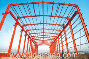Pre-Engineered Red Color Functional Steel Structural Warehouse pictures & photos