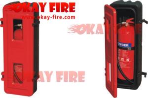 6-9kg FRP Fire Extinguisher Cabinet (OK006-001)