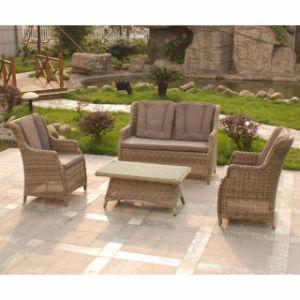 Garden Rattan Wicker Patio Lounge Furniture Outdoor Sofa Set