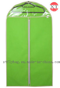 New Design Clear Look Window Garment Packing Bag Suit Cover pictures & photos