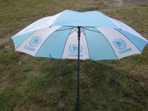 "United Nation Promotional Gift 30"" Polyester Umbrella pictures & photos"