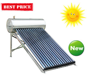 Heat Pipe Vacuum Tube Pressurized Solar Water Heater pictures & photos