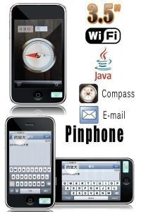 Pinphone 3GS X6 WiFi JAVA GSM One SIM Email Cell Phones