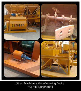 Small Twin Shaft Concrete Mixer (Js500) pictures & photos