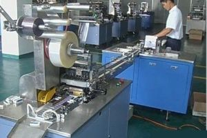 Eraser Paper Sleeve Packing Machine Sy-60 pictures & photos