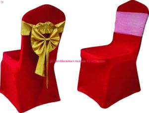 Wedding Chair Cover Hotel Furniture (YC-828) pictures & photos