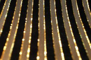 Metalli Pile Line Silk Velvet