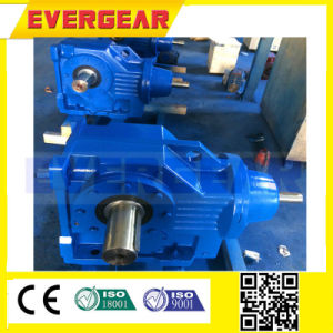 K Series Helical Bevel Gear Box Motor with 3phase Motor pictures & photos