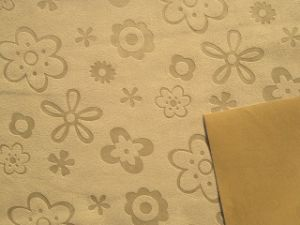 Embossed Faux Suede Roller Blind Fabric pictures & photos