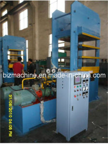 hot plate curing press machine pictures & photos