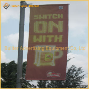 Outdoor Advertising Street Pole Flag (BT-SB-002) pictures & photos