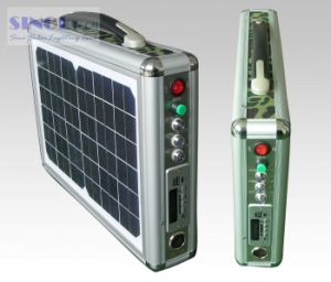10W Ultra Thin Portable Solar LED Lighting System pictures & photos