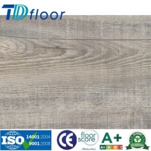 Commercial Luxury Vinyl Planks Tile /PVC Plastic Floor Covering/Wood Embossed pictures & photos