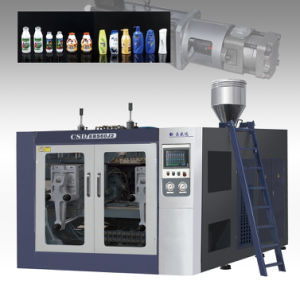 CE Approved Double-Station (Energy Efficiency With Servo Motor) Extrusion Blow Molding Machine (CSD-EBS60) pictures & photos