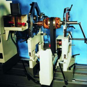 Schenck Horizontal Hard-Bearing Balancing Machine Hm40u