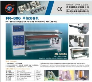Single Shaft Masking/Double Sided Adhesive Tape Rewinding Machine pictures & photos