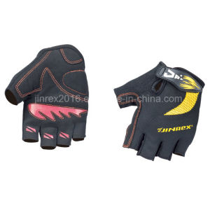 Half Finger Cycling Sports Bike Padding Bicycle Sports Glove pictures & photos