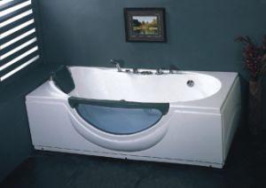 Oblong Massage Bathtub (BG-8123)
