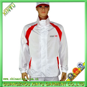 OEM Sportswear Screen Printing White Jacket pictures & photos
