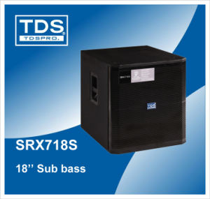 Sub Bass Subwoofer Professional Sound Equipment with 18′ ′ Transducer (100mm) Voice Coil pictures & photos