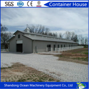 Low Cost Environmental Protection Light Steel Structure Building for Poultry Farm Chicken House Hoggery Pig House pictures & photos