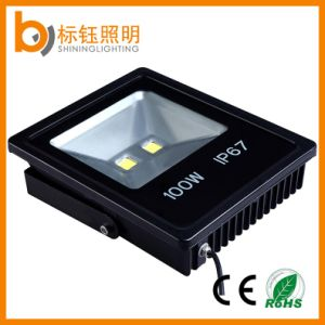 Ce Approved High Quality Slim COB Floodlamp LED Warm White Flood Light 50W pictures & photos