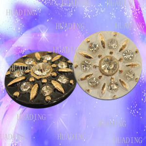 Fashion Diamond Metal Jeans Shank Button for Garment (SK00444) pictures & photos