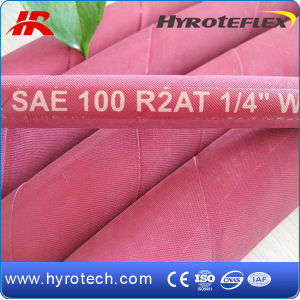 High Pressure Rubber Hose SAE 100r2at/DIN En853 2sn pictures & photos