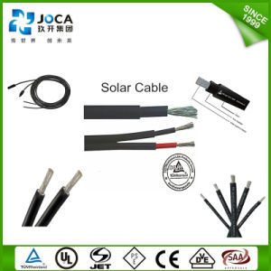 China OEM TUV Approved Solar Twin Core PV Cable 6mm2 pictures & photos