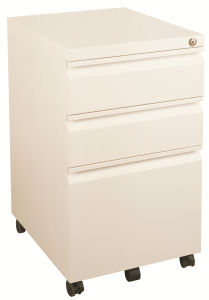 3 Drawers Side Pull Hanging File Cabinet White (SI6-LCF3SPW) pictures & photos