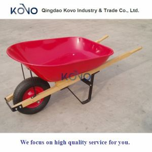 6cbf Wooden Handle Wheelbarrow (WH6600) pictures & photos