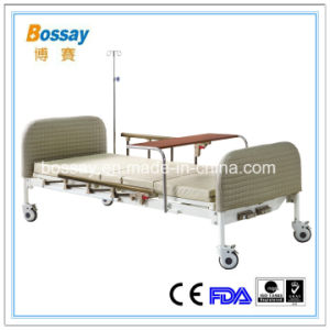 High Quality Hospital Bed (Two Cranks) pictures & photos