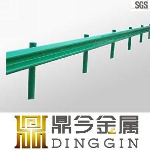Zinc Coated Galvanized Steel W Beam Guardrail pictures & photos