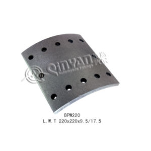 Brake Lining (BPW220) BPW Truck Brake Lining pictures & photos