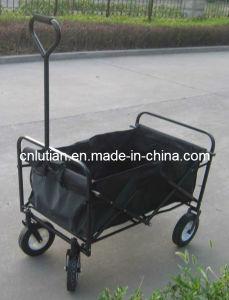 Folding Garden Yard Trolley, Folding Wagon, Folding Roller Cart
