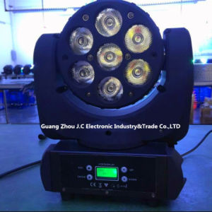 7PCS * 12W RGBW 4in1 LED Moving Head Beam Light for Stage Disco pictures & photos