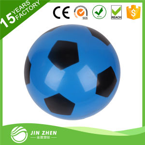 Football 15cm Random Color PVC Inflatable Soccer Indoor Outdoor Toy pictures & photos