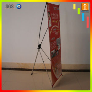 Economic Retractable Aluminum Adjustable X Stand Banner for Advertising pictures & photos