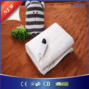 220V Ce Super Low Electromagnetic Radiation Polyester Electric Blanket pictures & photos