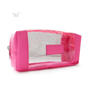 2016 Wholesale Promotional Fashion Best Selling PVC Clear Cosmetic Bag pictures & photos