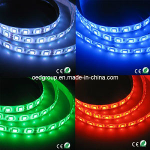 IP65 Waterproof 12VDC 14.4W/M Green Color LED Flex Strip pictures & photos