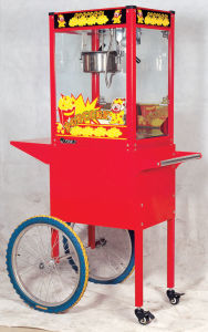 Newly Upgraded Popcorn Machine with Cart (ET-POPB-RC) pictures & photos