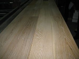 Engineered Wood Flooring Brushed and White Oil
