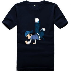 100 Organic Cotton High Quality Short Sleeeve Children T Shirt pictures & photos
