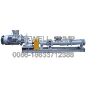 G Series Single Screw Slurry Pump pictures & photos