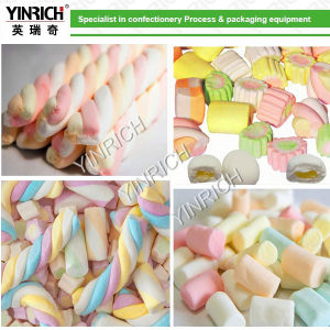 Candy Maker Complete Extruded Marshmallow (Cotton Candy) Line (EM50) pictures & photos